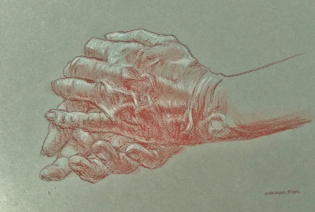 sanguine hands